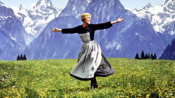 Sound of Music (1965)Julie Andrews Credit: 20th Century Fox/Courtesy Neal Peters Collection.
